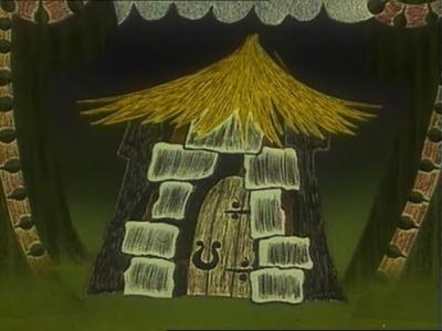 Бременские музыканты. Разбоничья избушка - 2