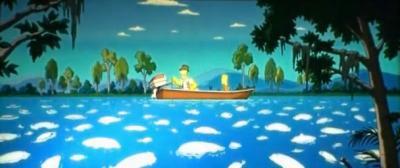 Симпсоны в кино. Рыба исчезла - 1