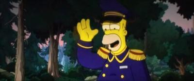Симпсоны в кино. Гомер в белых перчатках - 2