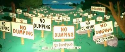 Симпсоны в кино. Мусор не бросать - 1