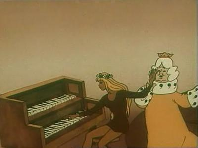 Пианино без крышки