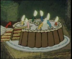 Целый кусок торта