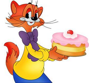 Леопольд с тортом