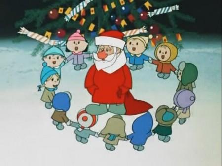 Дед Мороз и валенки